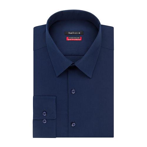 Van Heusen® Flex Collar Slim Fit Long Sleeve Dress Shirt