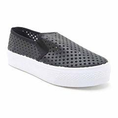 Qupid Stardust Womens Sneakers