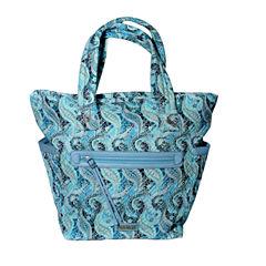 Waverly Swirled Paisley Large Tote Bag