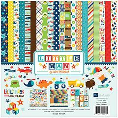 Echo Park Paper 14-pc. Little Man Collection Kit