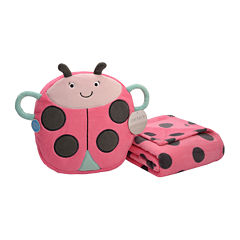Carter's® On-the-Go Ladybug Plush Bag with Blanket