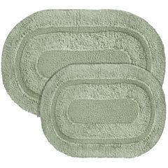 Popular Bath Products Pearl Memory Foam 2-pc. Bath Rug Set