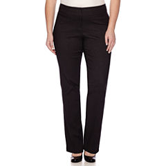 Heart & Soul® Double Waist Pinstripe Pants - Juniors Plus
