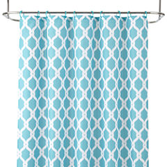 JCPenney Home™ Trellis Shower Curtain and 12-pc. Hooks Set