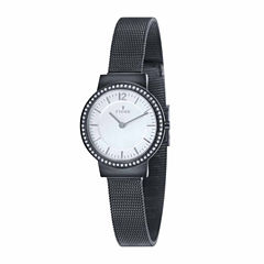 Fjord Mesh Band Womens Black Expansion Watch-Fj-6034-33