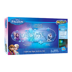 Uncle Milton Disney Frozen In My Room - My Sign! Light-up Sign Activity Kit
