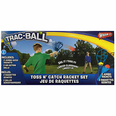 Wham-O Trac-Ball Toss N' Catch Racket Set