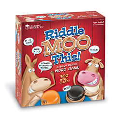 Learning Resources Riddle Moo This™ Silly RiddleWord Game
