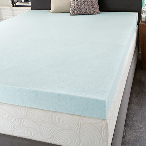 PuraSleep 4 OptiPlush Cool Comfort Memory Foam Mattress Topper