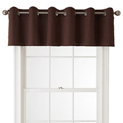 JCPenney Home™ Jenner Cotton Grommet-Top Insert Valance