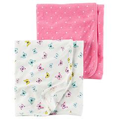 Carter's 2-pc. Dots Blanket - Girls