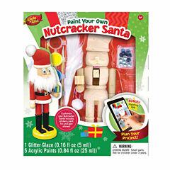 Masterpieces Puzzles Works of Ahhh... Wood Painting Kit - Nutcracker Santa
