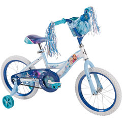Huffy Disney Frozen 16In Bike with Handlebar Bag