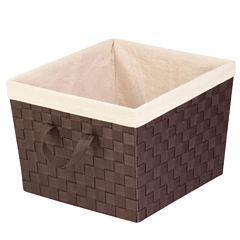 Honey-Can-Do® Large Woven Basket with Liner