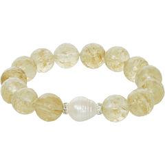 ROX by Alexa Quartz & Cultured Freshwater Pearl Bracelet