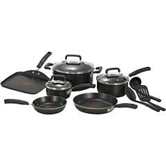 T-Fal® Signature 12-pc. Aluminum Nonstick Cookware Set