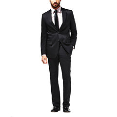 Haggar Stripe Classic Fit Stretch Suit Jacket