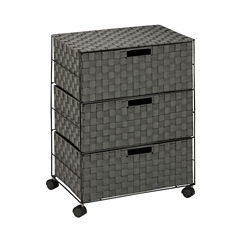 Honey-Can-Do® 3-Drawer Chest with Wheels