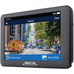 Magellan RM6620SGLUC RoadMate 6620-LM 5IN GPS HD Navigator with Dash Cam & Free Lifetime Maps