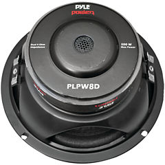 Pyle PLPW8D Power Series Dual Voice-Coil 4? Subwoofer (8IN; 800 Watts)