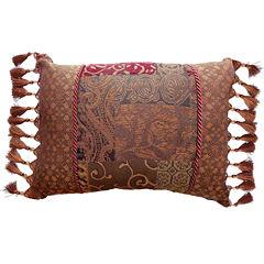 Croscill Classics® Catalina Red Oblong Decorative Pillow