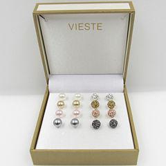 Vieste Rosa Womens 4-pc. Jewelry Set