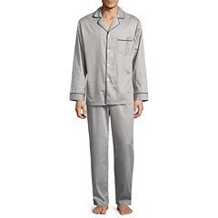 Stafford® Sateen Pajama Set - Big & Tall