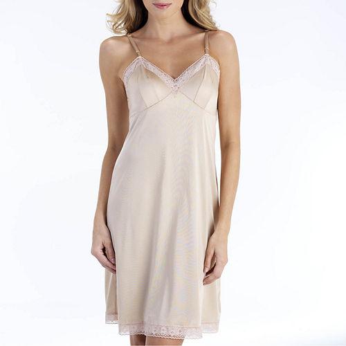 Vanity Fair® 22 Rosette Lace Full Slip - 10103