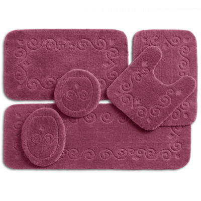 jcpenney home blair bath rug collection