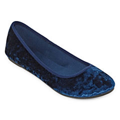 City Streets Clue Womens Ballet Flats