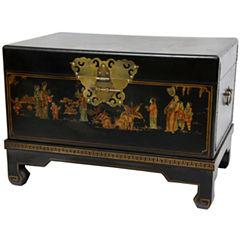 Oriental Furniture Small Storage Trunk