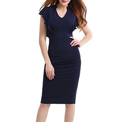 Phistic Amy Short Sleeve Sheath Dress