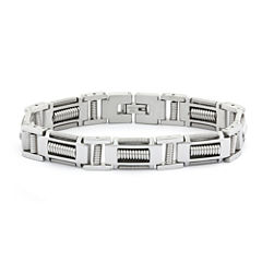 Mens Stainless Steel  8.25
