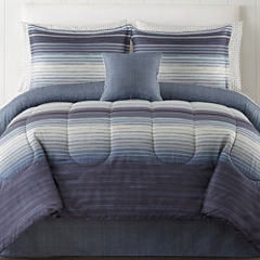 Studio™ Hudson Reversible Complete Bedding Set with Sheets & Accessories