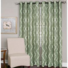 Elrene Medalia Grommet-Top Curtain Panel