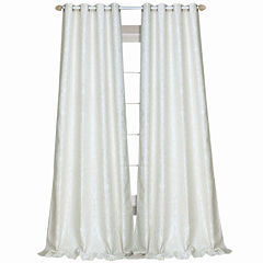 Laura Ashley® Florence Rod-Pocket 2-Pack Curtain Panels