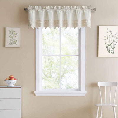 Hanna Rod Pocket Tailored Valance