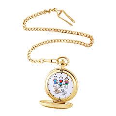 Unisex Gold Tone Bracelet Watch-41477-G