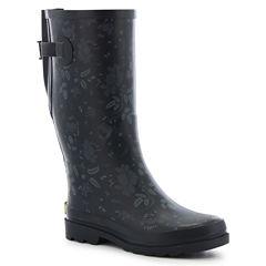 Western Chief Wide Calf Feminine Floral Waterproof Womens Waterproof Rain Boots