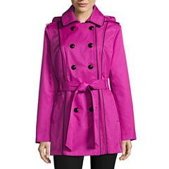 Worthington Hooded Trench Coat