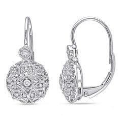 1/8 CT. T.W. White Diamond 14K Ear Cuffs
