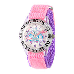 Disney Girls Palace Pets Pink Pumpkin Time Teacher Strap Watch W002845