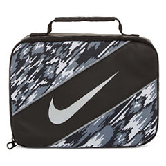 Nike® CLASSIC - BLACK/WHITE PRINT Lunch Box