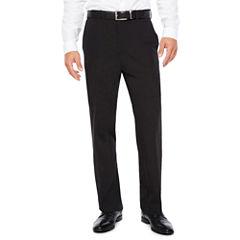 Savane Classic Fit Flat Front Pants