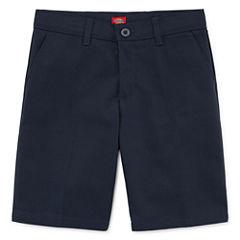 Dickies® Slim-Fit Flat-Front Shorts - Girls 7-16