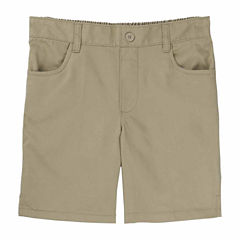French Toast Pull-On Shorts Big Kid Girls