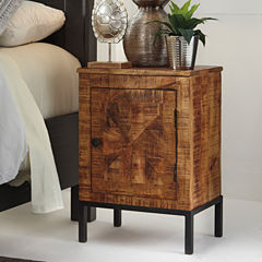 Signature Design by Ashley® Charlowe Mixed Material Nightstand