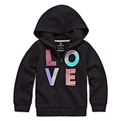 Okie Dokie Hoodie-Toddler Girls