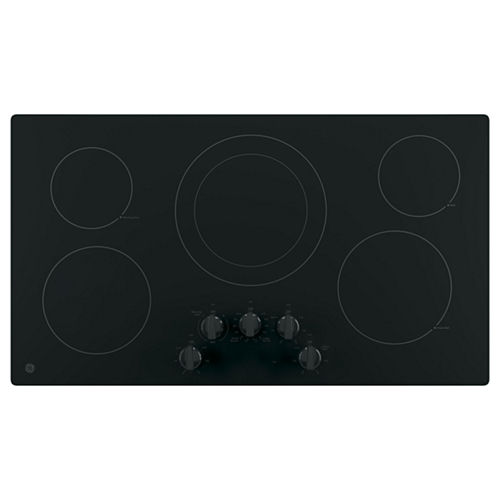 GE® 36 Built-In Knob Control Electric Cooktop