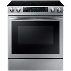 Samsung 5.8 cu. ft. Slide-In Electric Range
